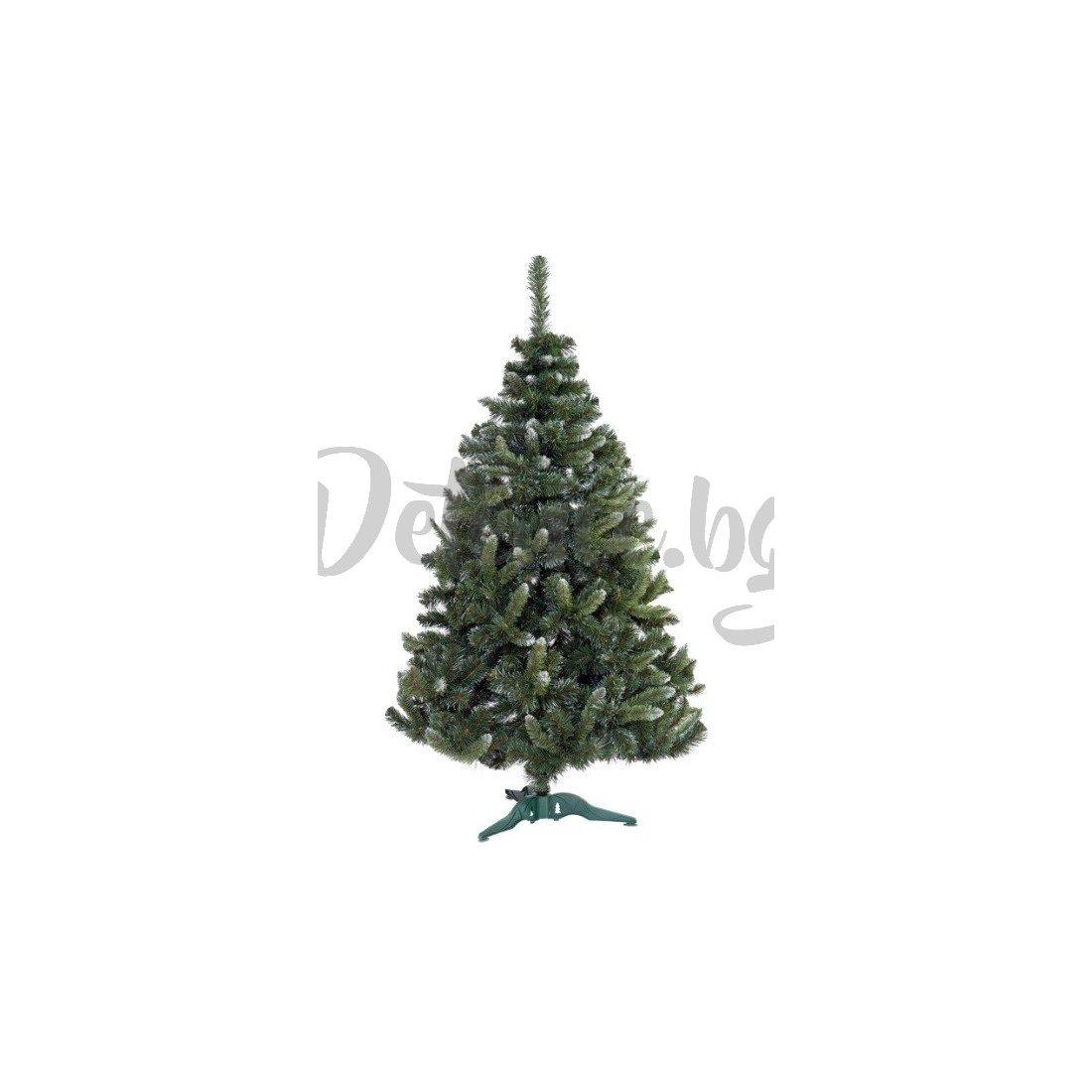 Коледна елха с бял връх - Бор - 220см