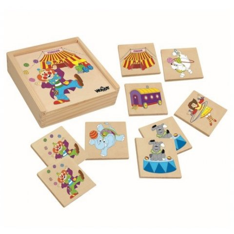 Woody - Мемо игра Цирк