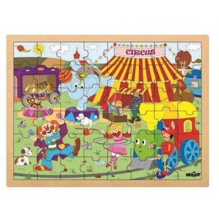 Woody - Голям пъзел Цирк