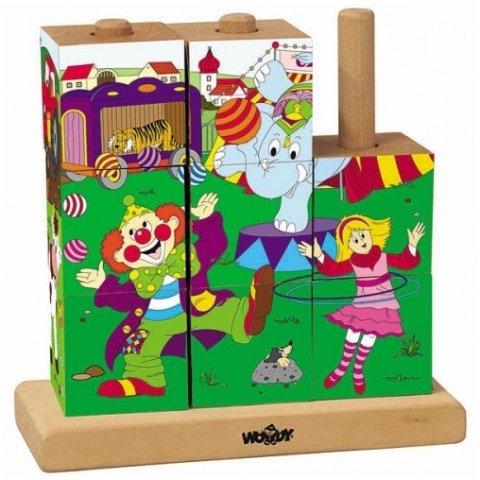 Woody - Кубчета - низанки Цирк