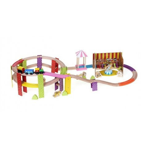 Woody -  Влакче с релси Цирк