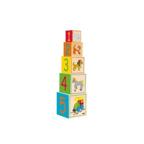 Woody - Кубчета сортер Веселото Влакче