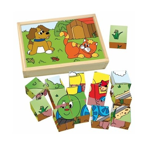 Woody - Кубчета с картинки Веселото влакче
