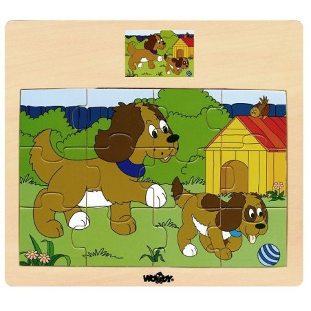 Woody - Дървен пъзел Домашни Животни