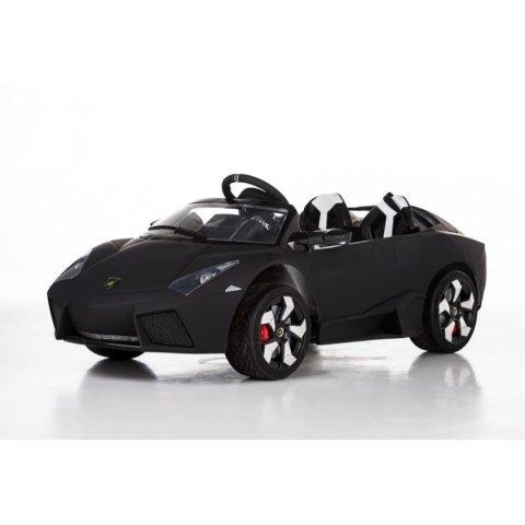 Акумулаторна кола с дистанционно управление - Lamborghini 12V - Черна