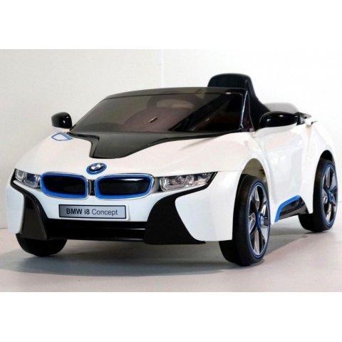 Акумулаторна кола BMW I8 CONCEPT 12v - Бяла
