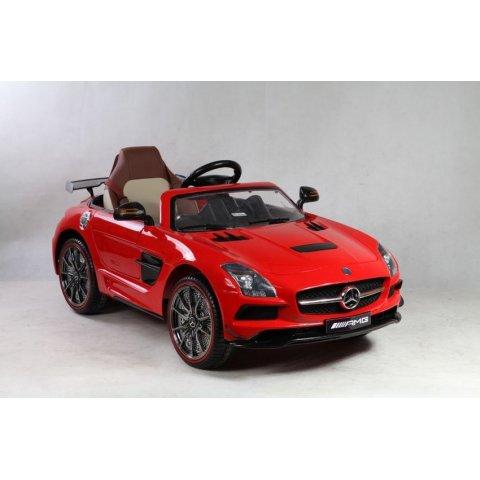 Акумулаторна кола Mercedes SLS AMG 12V - Червена