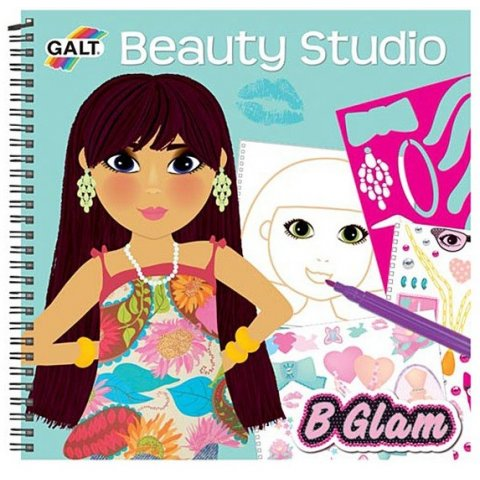 Galt - Книжка Модерни  момичета - дизайн на облекла,  аксесоари, гримове и прически