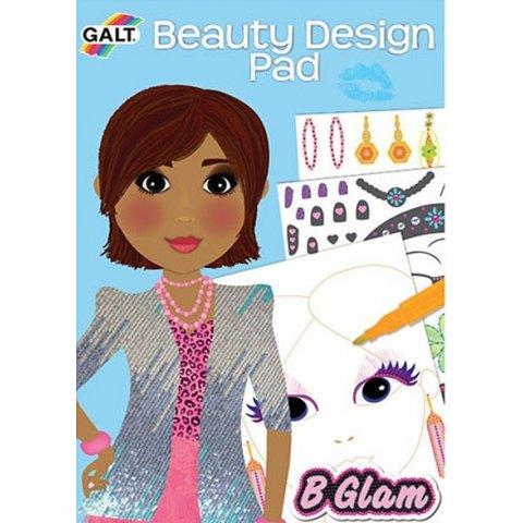 Galt - Книжка Модерни  момичета - гримове и прически