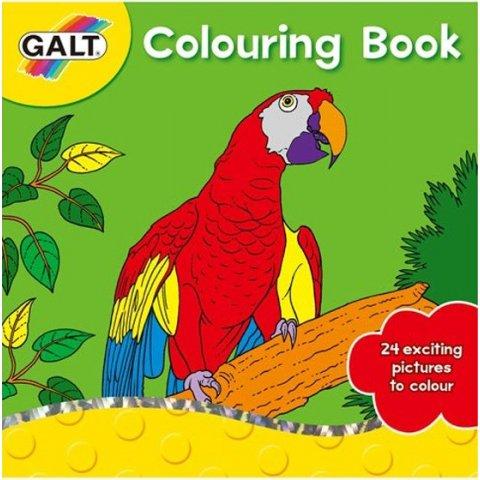 Galt - Книжка за оцветяване Папагал