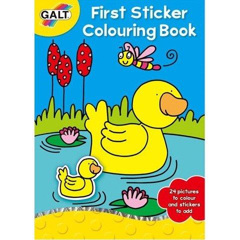 Galt - Моята първа книжка за оцветяване със стикери