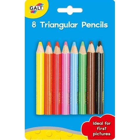 Galt - 8 триъгълни молива
