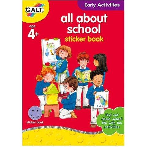 Galt - Книжка Всичко за училище