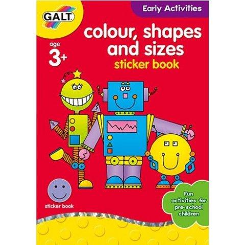 Galt - Книжка Цветове, форми и размери