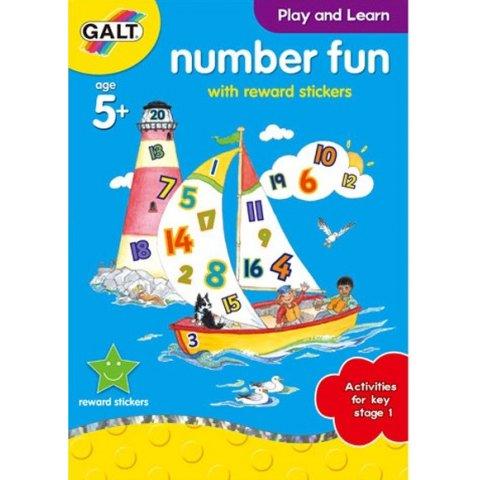 Galt - Забавна книжка за цифрите