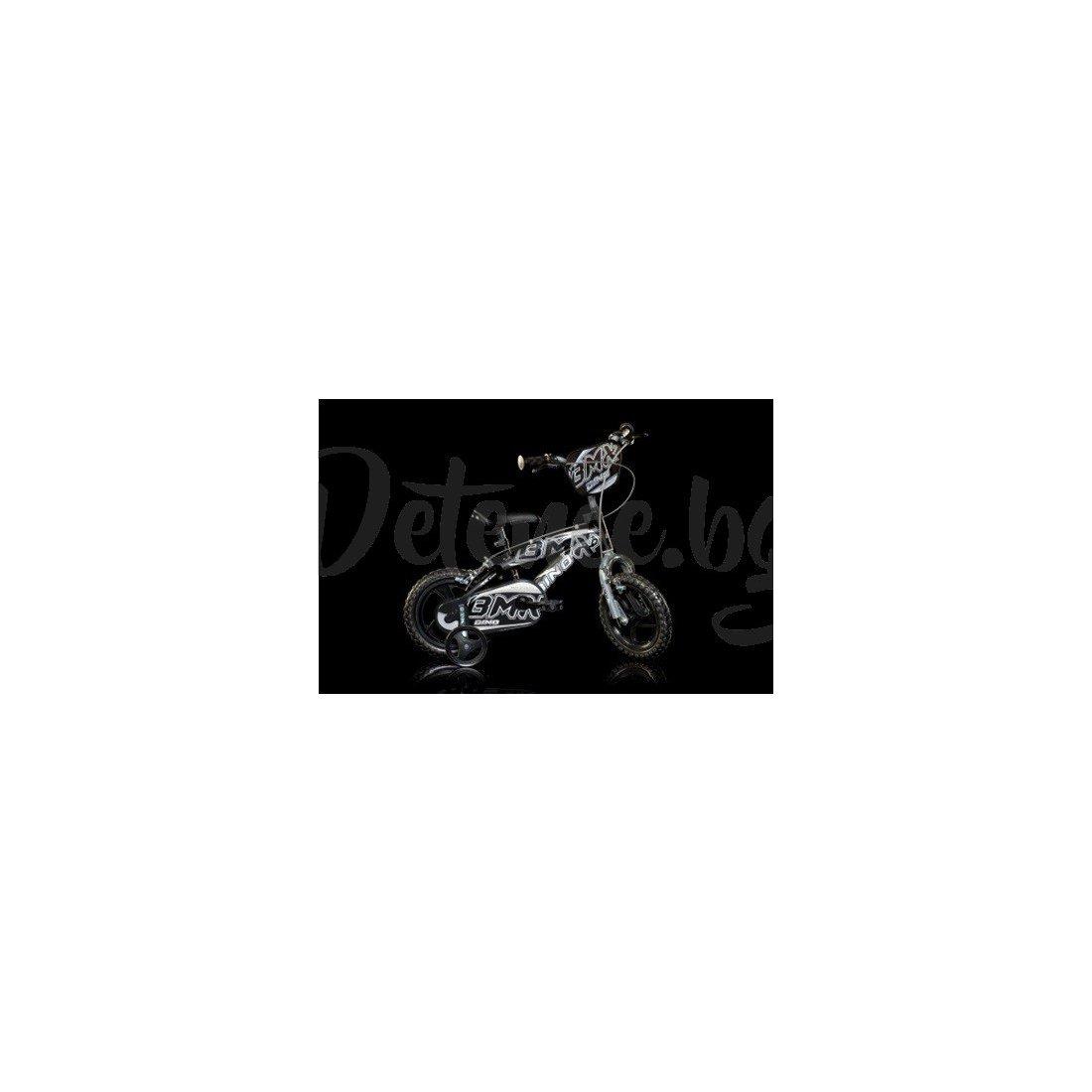 "Dino Bikes - Колело BMX 12"" черно"