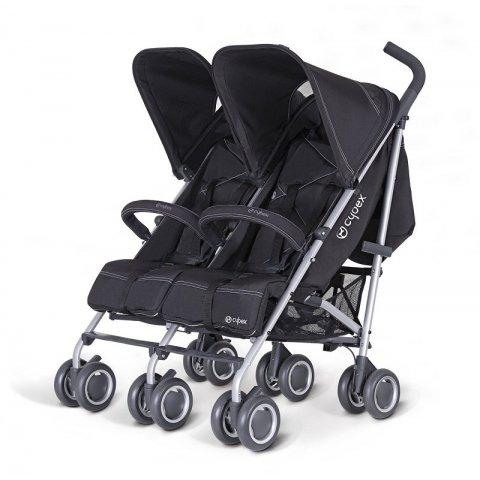 Cybex 2012 Комбинирана количка за близнци - Twinyx Pure Black