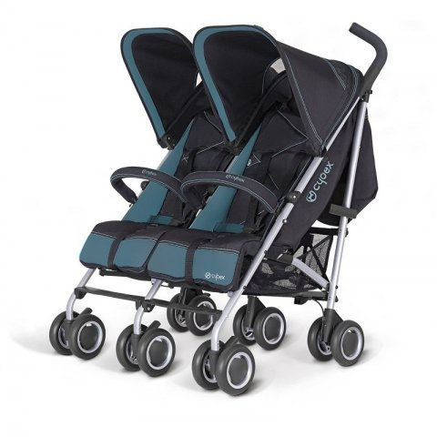 Cybex 2012 Комбинирана количка за близнци - Twinyx Water Colours