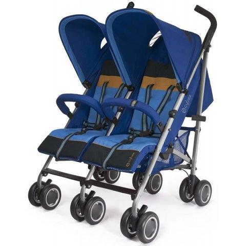 Cybex 2013 Комбинирана количка за близнци - Heavenly Blue