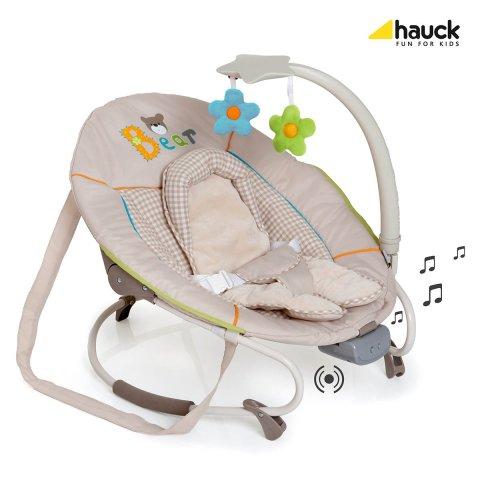 Hauck - Шезлонг за бебе Leisure e-motion - Bear