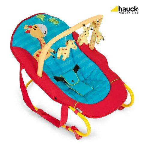 Hauck - Шезлонг за бебе Bungee Delux - Jungle Fun