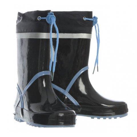 Playshoes - Детски гумени ботуши - Синя лента