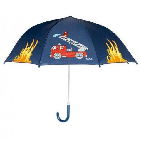 Playshoes - Детски чадър Пожарна