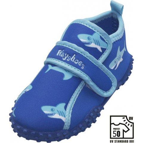 Playshoes - Детски аква обувки - Акула
