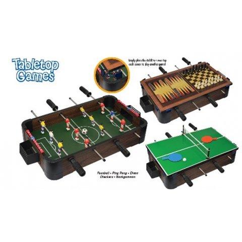 Ambassador - 5 в 1 Джага, Тенис на маса, Шах и Дама