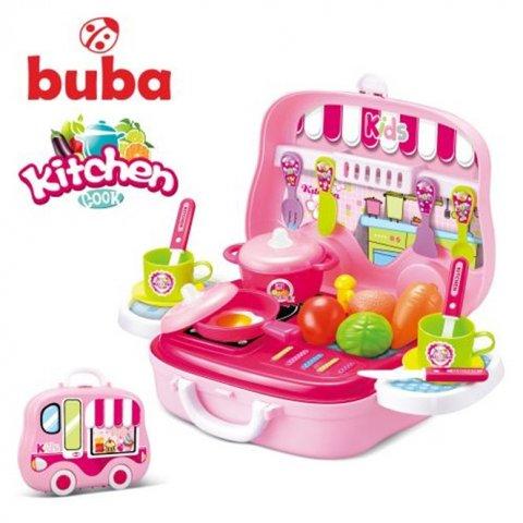 Buba - Kitchen Cook малка детска кухня розова