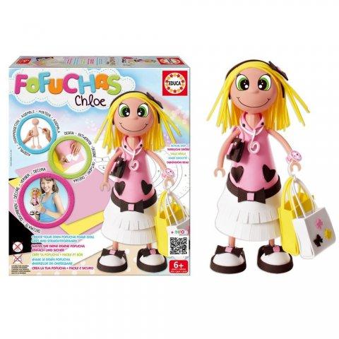Educa - Кукла Fofucha Chloe Glamour