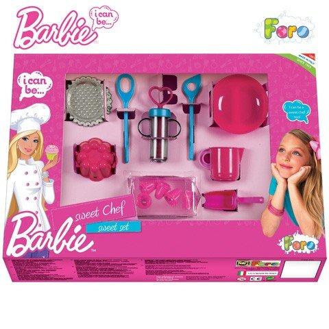 Faro - Барби Комплект за Сладки с шприц