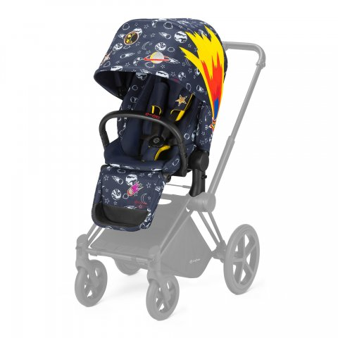Седалка  Cybex - Priam Lux Seat Anna K Space rocket