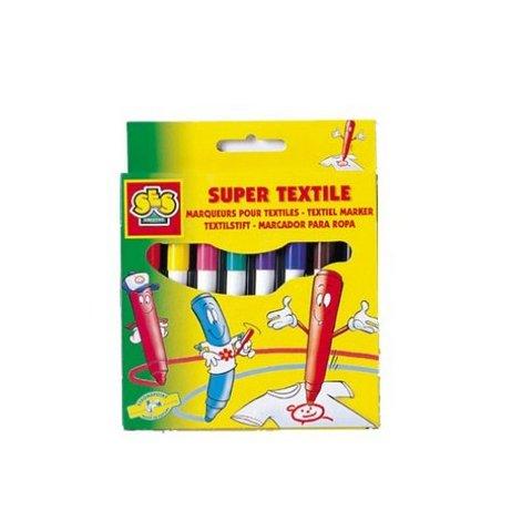 SES - 8 Цвята текстилни маркери