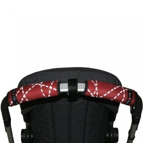Tris & Ton - Протектор за хоризонтална дръжка на количка с разделител, принт Маймунка шофьор