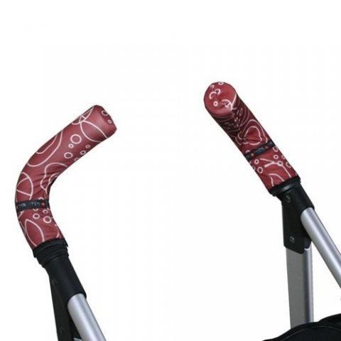 Tris & Ton - Протектор за вертикални дръжки на количка с принт Tris