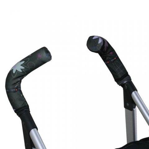 Tris & Ton - Протектор за вертикални дръжки на количка с принт пингвин