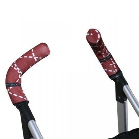 Tris & Ton - Протектор за вертикални дръжки на количка с принт маймунка шофьор