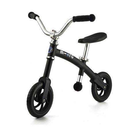 Micro - G-Bike Chopper колело за баланс Black Matt