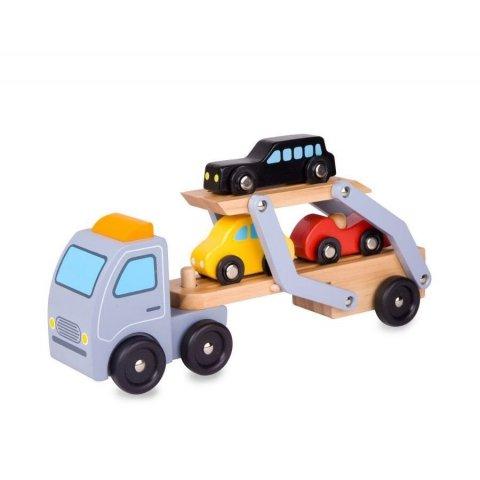 Classic World - Детски автовоз с три колички