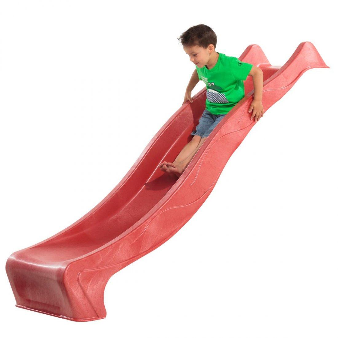 "KBT - Детска пързалка/улей ""TSURI"" - червен"