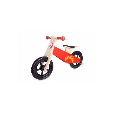 Classic World - Дървено колело за баланс - Червено