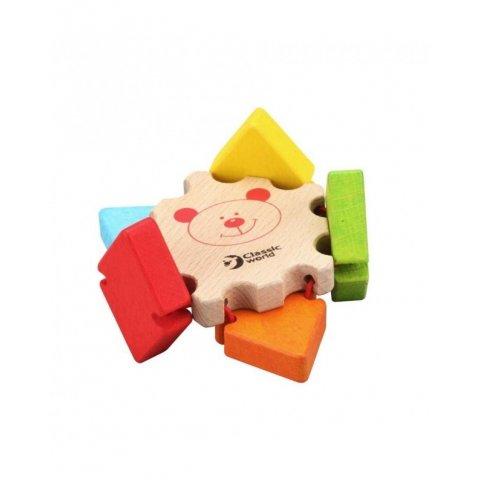 Classic World - Дървена играчка Цвете с огледало