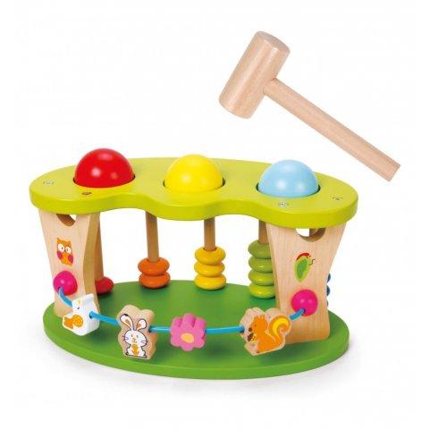Classic World - Дървена играчка - удари топката