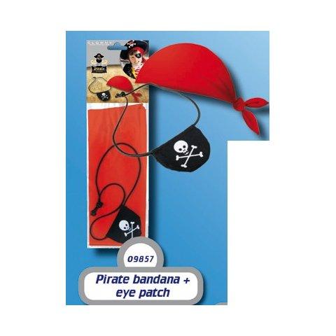 SES - Пиратска кърпа и превръзка за око