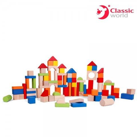 Classic World - Кубчета за нареждане Classic World със 100 части