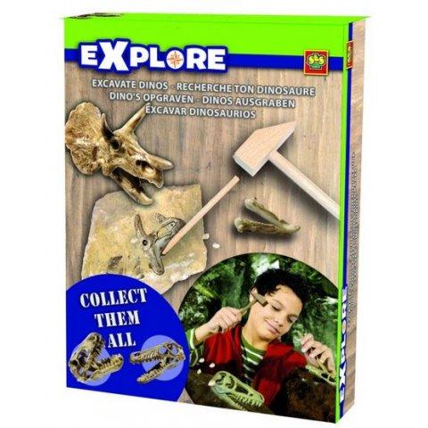 SES - Комплект за разкопки Динозавър