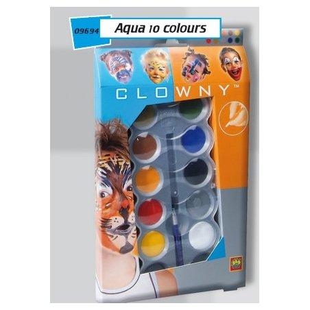 SES - Комплект бои за лице 10 цвята