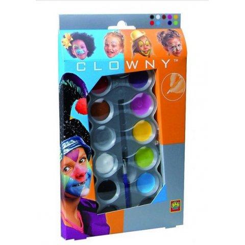 SES - Комплект бои за лице 10 цвята Тренди