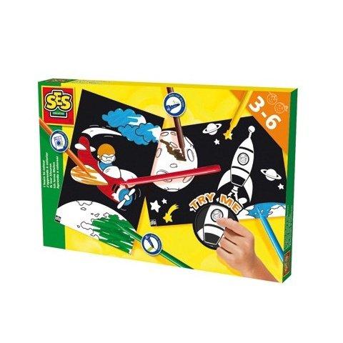 SES - Уча се да оцветявам ракета и самолет